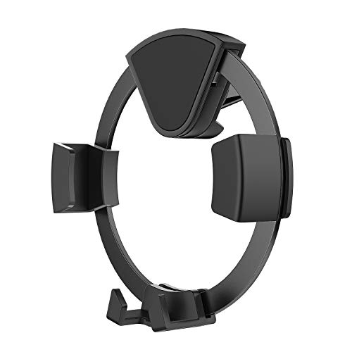 MoKo Car Phone Mount, Air Vent Car Phone Holder with Gravity Sensor Design fit with 4.5-6.5 inches Smartphones Such as iPhone XR/XS/XS Max/8/8 Plus, Galaxy S10/S9/Note9, Google Pixel 3/3 XL, Grey -