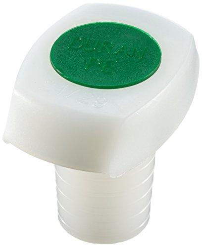 duran-292050801-bouchons-en-matiere-polypropylene-avec-insert-rin-24-29-vert-paquet-de-10