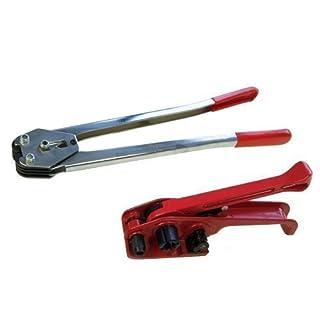 Merry Tools HK Schwerlast 12MM Hand Palette Bändelung Spanner Und Vakuumiergerät Umreifungsbänder Werkzeug 832314