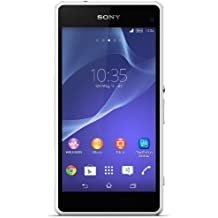 "Sony Xperia Z1 Compact - Smartphone libre Android (pantalla 4.3"", cámara 20.7 Mp, 16 GB, Quad-Core 2.2 GHz, 2 GB RAM), blanco (importado de Alemania)"