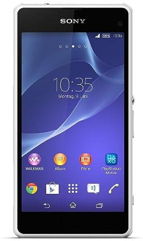 Sony Mobile Xperia Z1 Smartphone débloqué (4.3 pouces - 16 Go - Android 4.4 KitKat) Blanc (import Europe)