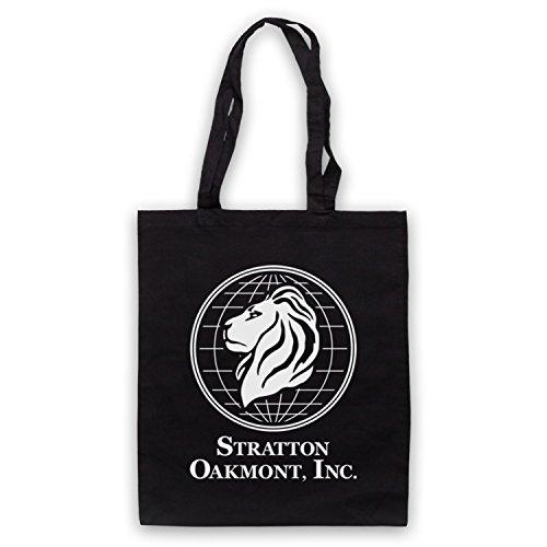 Inspiriert durch Wolf Of Wall Street Stratton Oakmont Inc Inoffiziell Umhangetaschen Schwarz