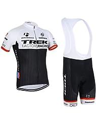 Deportes al aire libre respirable Jersey manga corta ciclismo Mens chaqueta de manga larga camisa bicicleta ciclo CULOTE medias, hombre, color Morado - nColor 7, tamaño talla XL