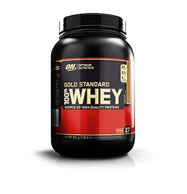 Optimum Nutrition Gold Standard 100% Whey Protein Powder, 908 g, Chocolate Peanut Butter by Glanbia Performance Nutrition