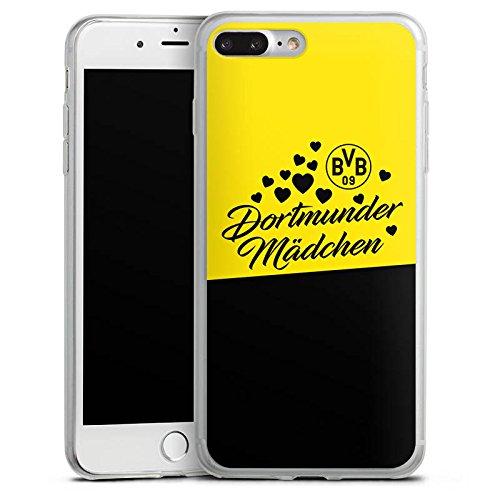 Apple iPhone 4s Slim Case Silikon Hülle Schutzhülle BVB Borussia Dortmund Dortmunder Mädel Silikon Slim Case transparent