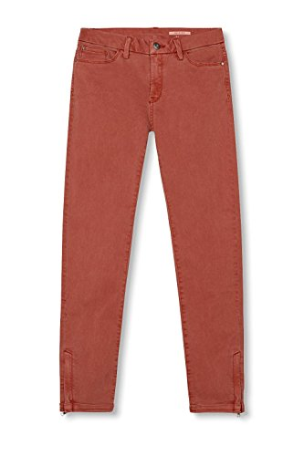 edc by ESPRIT Damen Hose Rot (Berry Red 625)