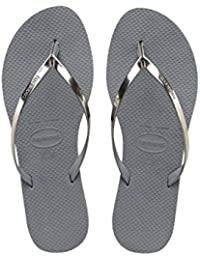 66f9b2d910930 Amazon.co.uk  Grey - Flip Flops   Thongs   Women s Shoes  Shoes   Bags
