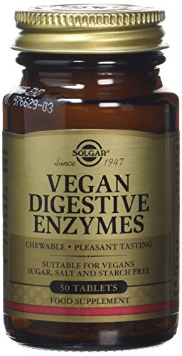 Solgar Vegan Digestive Enzymes Tablets – Pack of 50