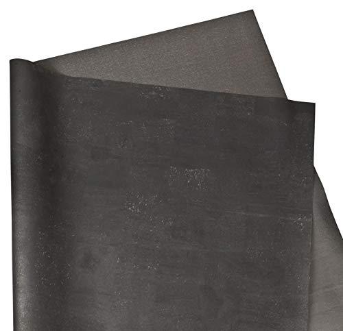 Korkstoff aus Korkrinde - 70 cm breit - Veganes Leder-Imitat - Kork-Oberfläche - samtig weicher Stoff - ideal für DIY zum Nähen - Taschen - Geldbörsen - Basteln und Dekorieren -