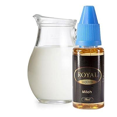 E-Liquid Milch ohne Nikotin für E-Zigarette 12ml Inhalt von Royal Liquids