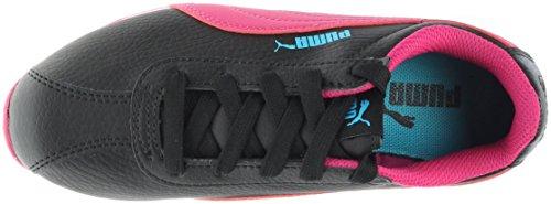 Puma Turin PS Synthetik Turnschuhe Puma Black-Fuchsia Purple