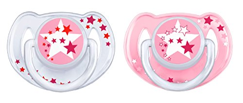 Preisvergleich Produktbild Philips Avent SCF176/24 Schnuller, rosa/weiß, 2er Pack