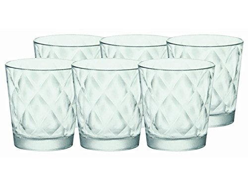 bormioli-rocco-5215924-kaleido-vassoio-6-bicchieri-in-vetro-per-acqua-24-cl