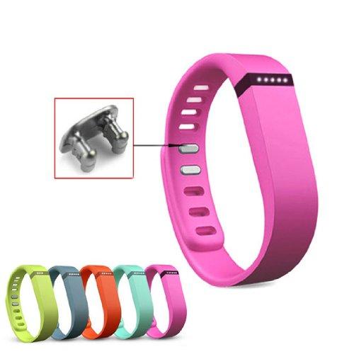 Aktivität- und Schlaf-Armband Wristband für Fitbit Flex mit Clasp ohne Tracker Groß (Lila) (Flex Fitbit Schlaf-tracker)