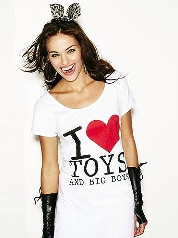 ANN SUMMERS 'I LOVE TOYS & BIG BOYS' NIGHTSHIRT CHEMISE