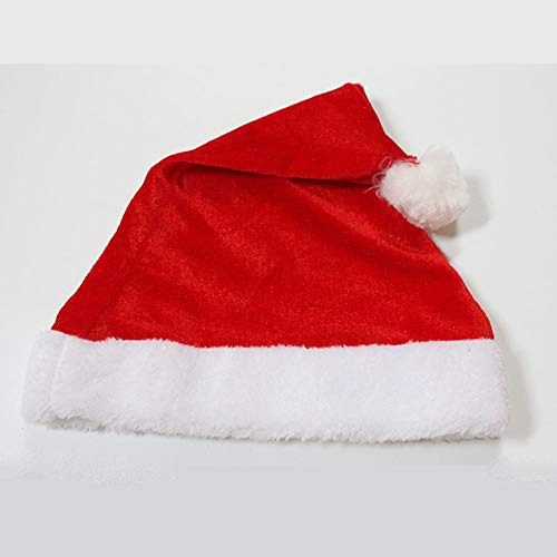 NJFJ Costume da Babbo Abito Natalizio, Vestito Natalizio per Bambini, Mantello Scialle di Natale, Completo per Bambini, Codice Uniforme