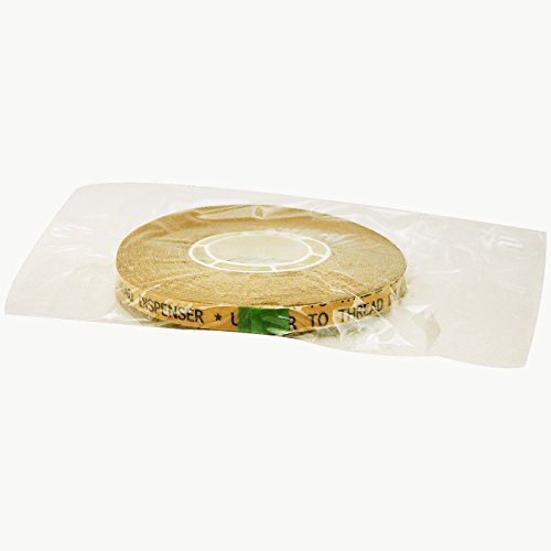 Jvcc atg-7505Heavy-Duty Atg tape: 1/4in. x 18YDS. (adesivo trasparente su Brown Liner)