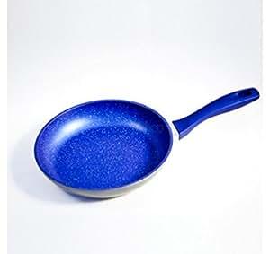 Padella blu 28 cm flavorstone antiaderenti per cucinare - Cucinare senza grassi ...