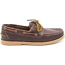 CASTELLANISIMOS CASTELLANÍSIMOS 101101 Zapatos Nauticos Hombre Piel con Cordones