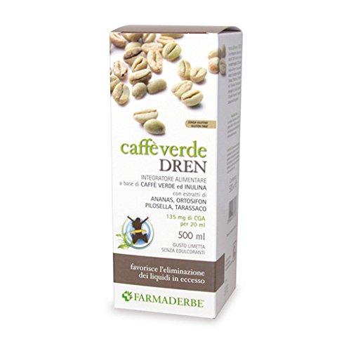 Farmaderbe Caffe' Verde Dren 500 Milliliter