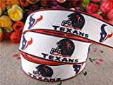 15070447, 7/8' (22mm) 5 Yards Printed Grosgrain Ribbons Sports Ribbon Hair Accessories Tape