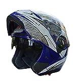 Qianliuk MotorradHelm GXT Lens Anti Nebel halb Helm Motobike Helm Motocross Helm Erwachsene
