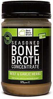 BONE BROTH Brodo concentrato di ossa bovine di qualità con sapore alle erbe italiane - fatto da bovini 100% au
