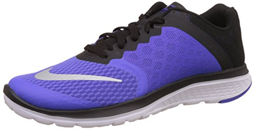 Nike Women's Nike Fs Lite Run 3 Violet and Black Running Shoes - 4 UK/India (36.5 EU)(4.5 US)  available at amazon for Rs.4197