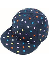 Casquette de baseball, Tianya Filtre bébé enfant coloré Motif de points d'été d'extérieur Chapeau de soleil Plat