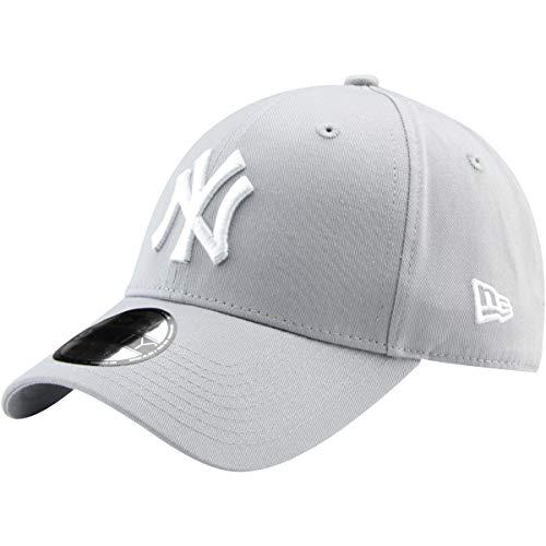 New Era 9Forty Unisex Damen Herren MLB League Essential 940 Adjustable CapStrapback Cap Baseball Cap Grau