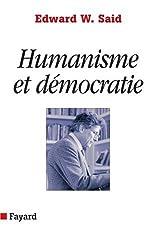 Humanisme et démocratie