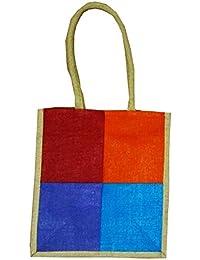Samyawoven Bag Women's Casual Canvas Woven Bags Shoulder Handbag Travel Bag Multi 4 Shaded Color