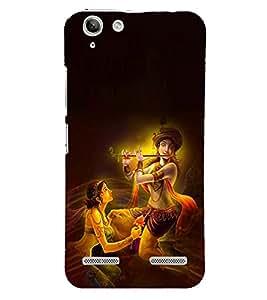 RADHA KRISHNA Designer Back Case Cover for Lenovo K5 Plus
