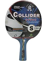 Kounga Table Tennis Racket Giant Dragon Collider-5 Stars, Racchetta per Ping-Pong Unisex, Red/Black, Taglia Unica