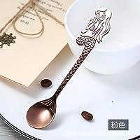 Cuchara Cuchara Tenedor Cuchara de Acero Inoxidable_304 Cuchara Taza de Acero Inoxidable Cuchara de Café Cuchara