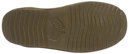 Warmbat Damen Classic Pantoffeln Braun (55 Mud)
