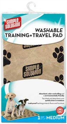 Simple Solution Washable Travel and Training Pad for Small/ Medium Dogs 1