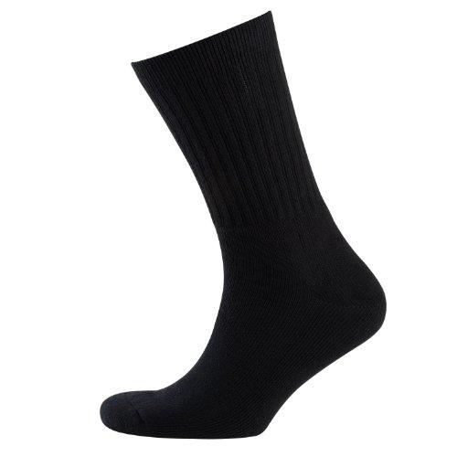 Nur Der Herren Socke 3 er Pack 485530/Sportsocken 3er, Gr. 39-42, Schwarz (schwarz 940)