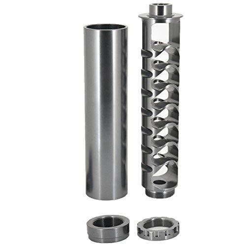 Leobtain Spirale en Alliage D'aluminium 1/2-28 5/8-24 Filtre à Carburant de  Voiture à Noyau Unique pour Napa 4003 WIX 24003 Solvent