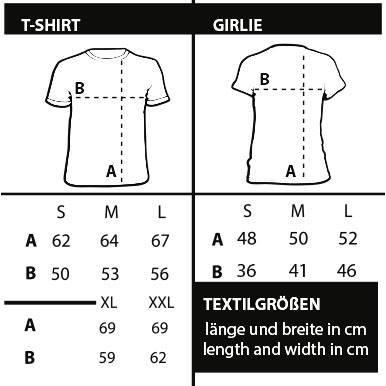 Shirtzshop–Maglietta da uomo nero