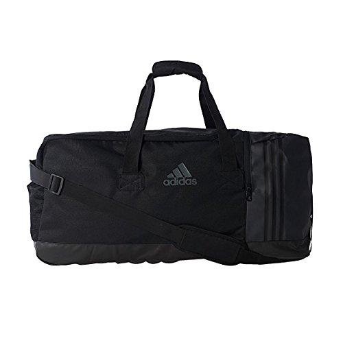adidas Sporttasche 3-Streifen Team L, Black/Visgre, 70 x 30 x 32 cm, 67 Liter, AJ9990