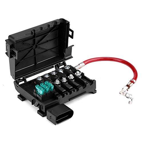 Qiilu Auto Batterie Sicherung Box Halter Terminal