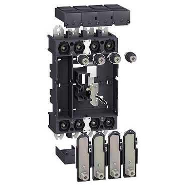 SCHNEIDER ELEC PBT - PAC 65 01 - KIT VIGI-COMPACT EXTRAIBLE ZOCALO 4 POLOS NSX400/630