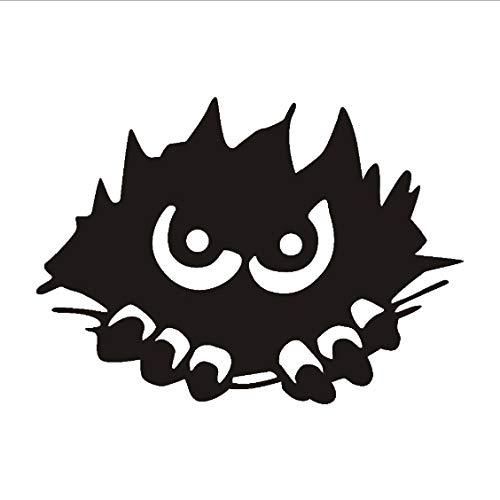 Monster Peeking Wandaufkleber Für Kinderzimmer Halloween Dekoration, Scary Monster Stalking Wandtattoos Dekoration Zubehör 81 * 58 cm