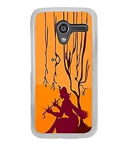 ifasho Designer Phone Back Case Cover Motorola Moto X :: Motorola Moto X (1st Gen) XT1052 XT1058 XT1053 XT1056 XT1060 XT1055 ( Astronaut Space Man Flying Tripping )