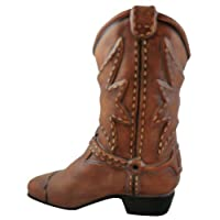 Accents & Occasions Ceramic Cowboy Boot Planter or Flower Arrangement Vase, 6-1/2-Inch by Accents & Occasions