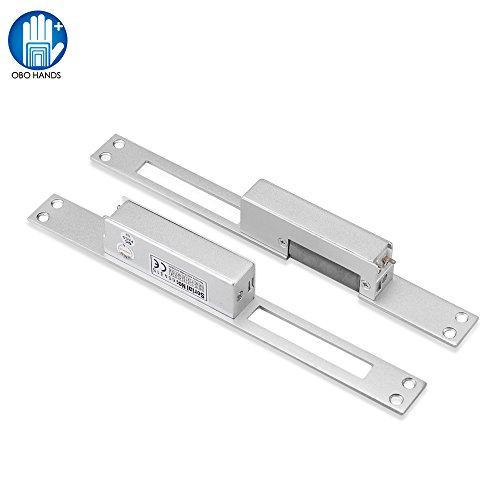 Typ Power Door Lock (OBO HANDS Elektrische Streik tür Einstellbare Richtung Keine Sicherung Stainless Lange Platte tür Signal für Zugangskontrolle)