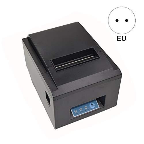 Thermischer Empfangs-drucker (ethic 80MM Thermodrucker Tragbarer Empfangsetikettendrucker Wasserdichtes Öl-beständig, USB-Port Serial Port, Kleiner Hochgeschwindigkeitsdrucker für Einzelhandels-POS-Catering-Steuerungssysteme)