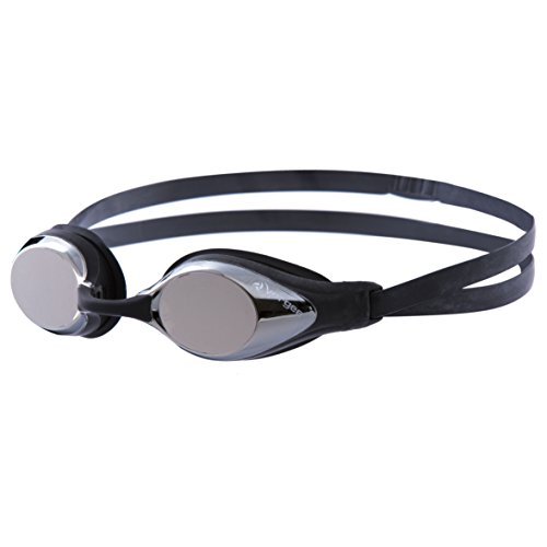 Vorgee Torpedo Silver Mirrored Lens Schwimmbrille, Schwarz, Einheitsgröße