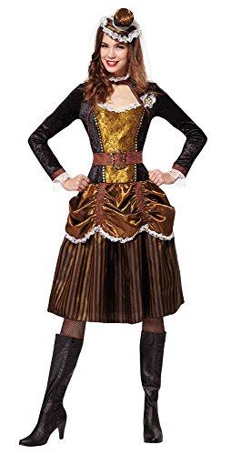 2Steampunk Lady UK Größe 10–12 (Cowgirls Outfits Ideen)